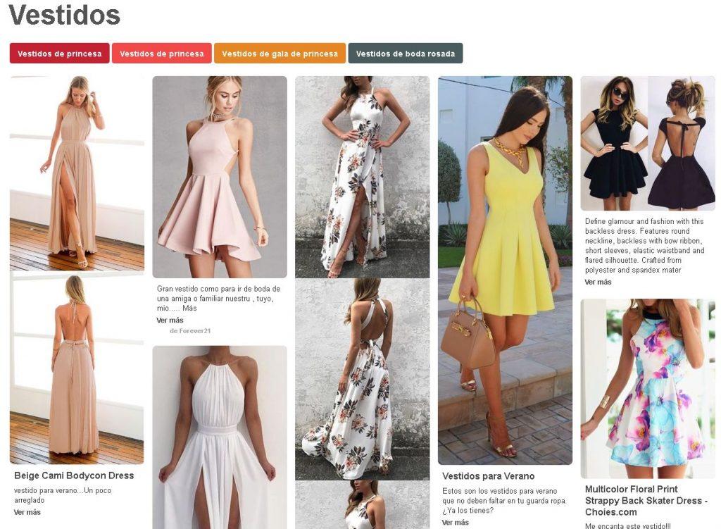 pinterest vestidos