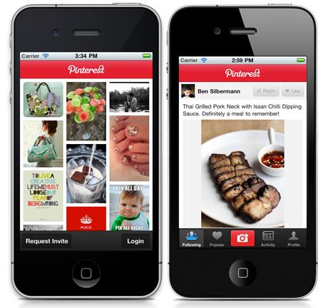 pinterest para iphone