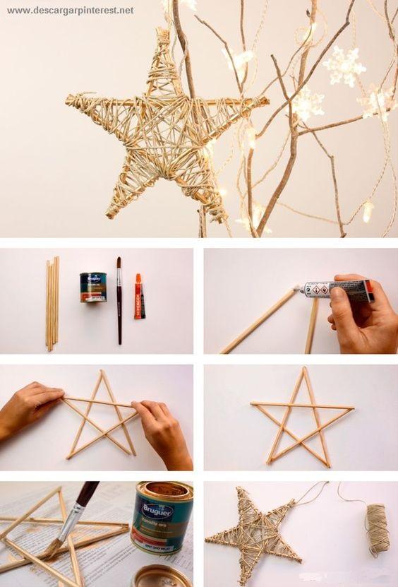 estrella navidad pinterest