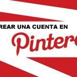 crear cuenta pinterest